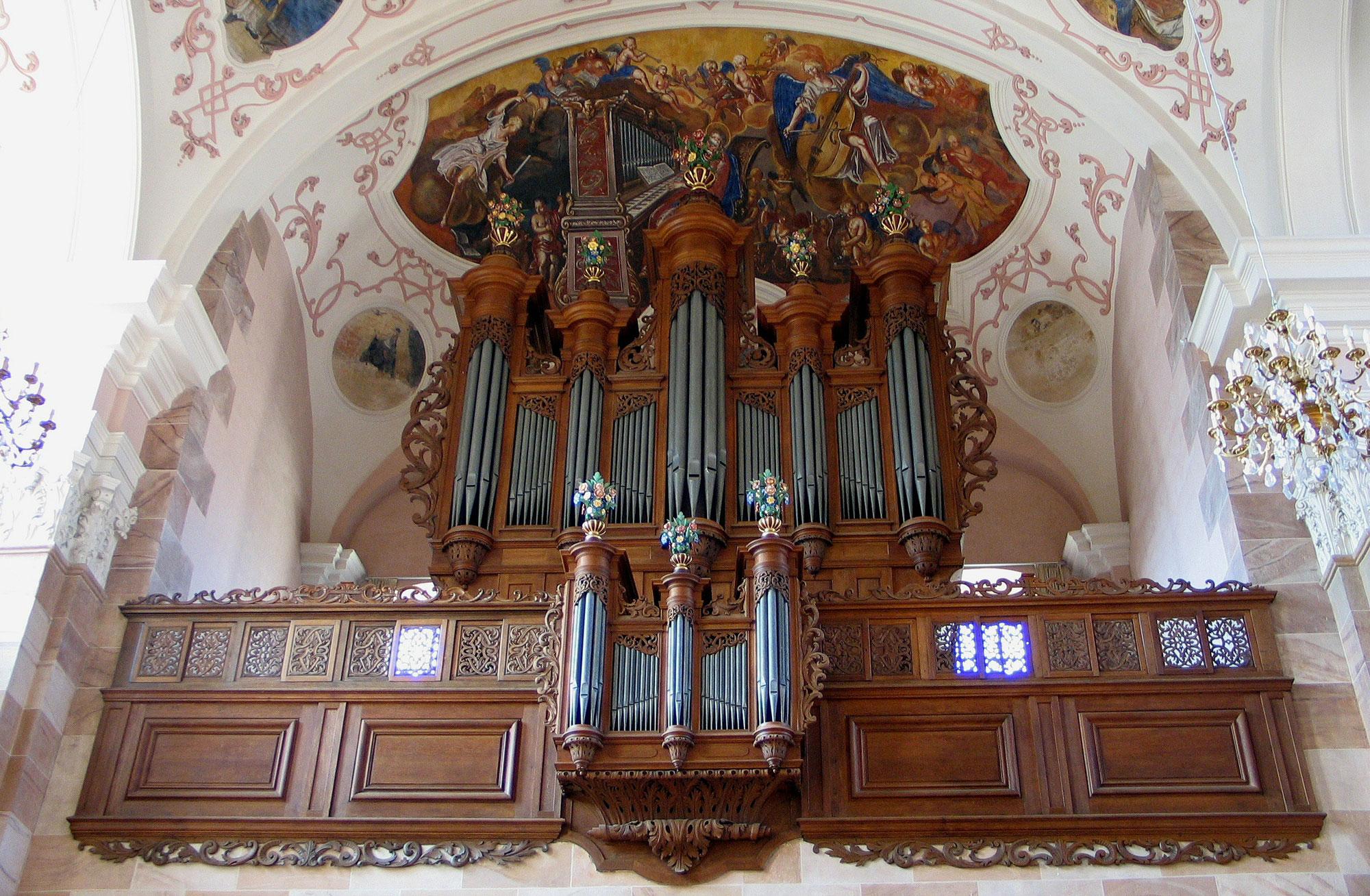 1732 Andreas Silbermann Organ