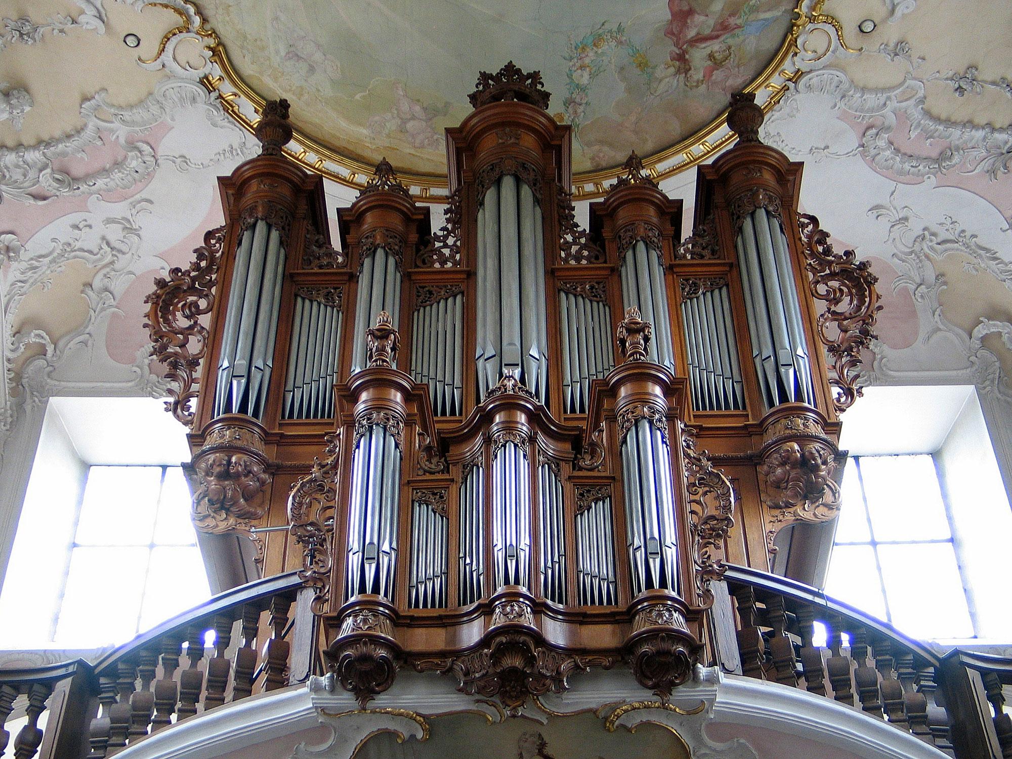 1761 2005 Johann Andreas Silbermann Metzler Organ